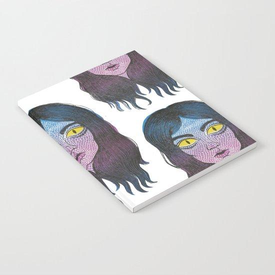 Reptile Girl Notebook
