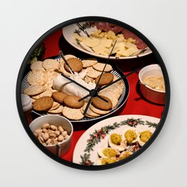 Appetizing Feasts #1 Wall Clock