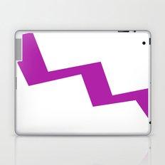 Purple line Laptop & iPad Skin