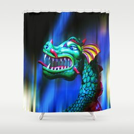Dragon Dreaming Shower Curtain