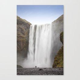 Skógafoss Waterfall Canvas Print