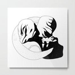 Kiss of the Lovers Metal Print