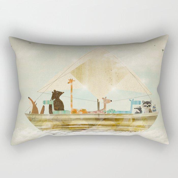 sky sailers Rectangular Pillow