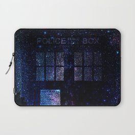 Tardis Doctor Who time machine Laptop Sleeve