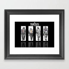 The Turtles ... Framed Art Print