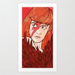 Boaie Art Print