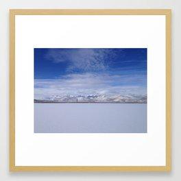 Alvord Desert Framed Art Print