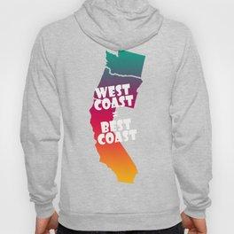 West Coast = Best Coast Hoody