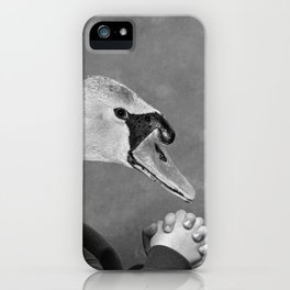 ''Please Stop torturing our brothers and sisters for Foie-gras.'' iPhone Case