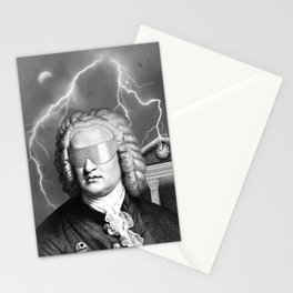 Bach To The Future (New Version) Stationery Cards