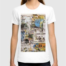 Wall of posters Portugal T-shirt