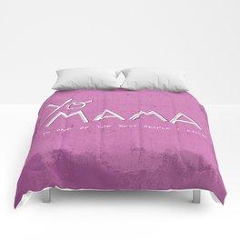 Yo Mama Is Tha Best / Purple Comforters