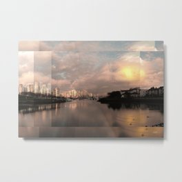 False Creek Candy Glow - Clean Edge #3 Metal Print