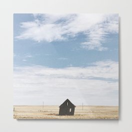 Windswept House Metal Print