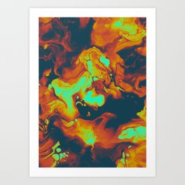DAY LIGHT AND BAD DREAMS IN A COOL WORLD FULL OF CRUEL THINGS Art Print