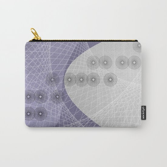 Purple Skyfall Carry-All Pouch