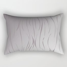 wild design exotic lines Silver Rectangular Pillow