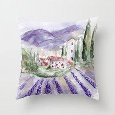 Provence Throw Pillow