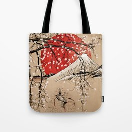 Japan Fishermen Tote Bag