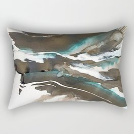 Day 15: Seeing what needs to be done is most visible with closed eyes and a quiet mind. Rectangular Pillow