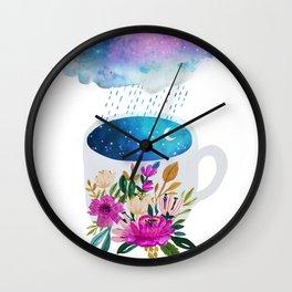 Storm by Mia Charro Wall Clock