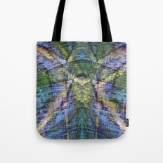 Chalk Drawing Abstract Tote Bag