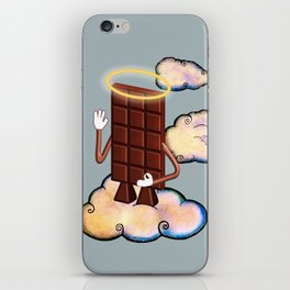 May Chocolate lord bless you! iPhone Skin