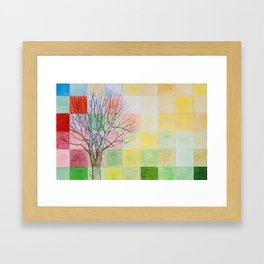 Autumn Past Framed Art Print