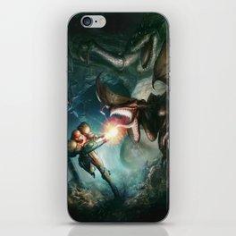 Metroid iPhone Skin