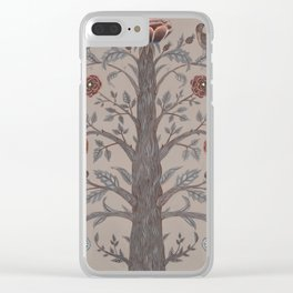 Garden Tree Clear iPhone Case