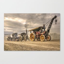 Traction Power  Canvas Print