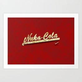 Nuka-Cola Art Print