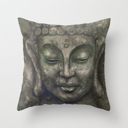 Buddha 1 Throw Pillow