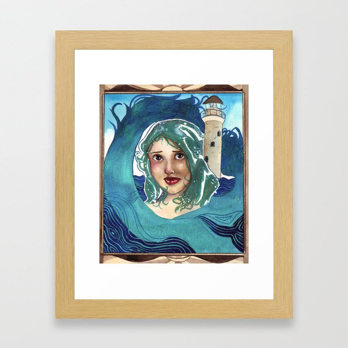 Beacon-Born Framed Art Print