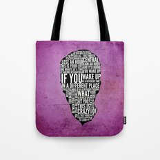 Typography Narrator Tote Bag