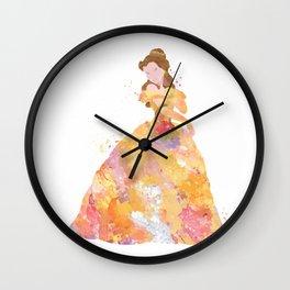 Princess Belle Wall Clock