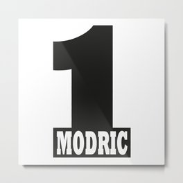 Luka Modric named number 1 of the world Metal Print