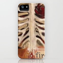 Between Two Mirrors iPhone Case