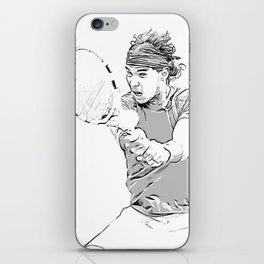 Rafa's Brilliant Backhand iPhone Skin