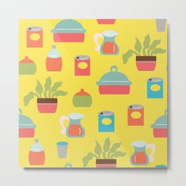 Bright Kitchen Metal Print