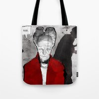 dracula Tote Bags featuring Dracula by Ed Pires