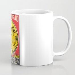 Old Matchbox label #8 Coffee Mug