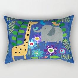 Safari Party Rectangular Pillow