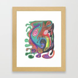 Drawing #57 Framed Art Print