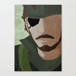 The Big Boss - Metal Gear Solid 3: Snake Eater Canvas Print