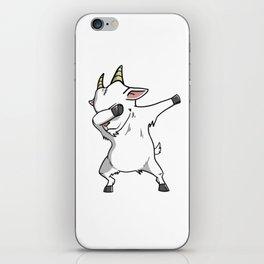 Funny Goat Dabbing iPhone Skin