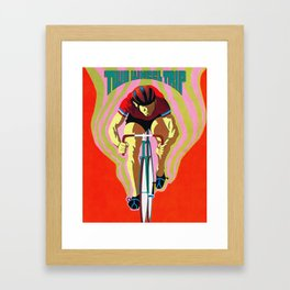 Two Wheel Trip Framed Art Print