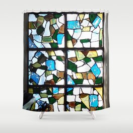 Beauty in Brokenness Andreas 1 Shower Curtain
