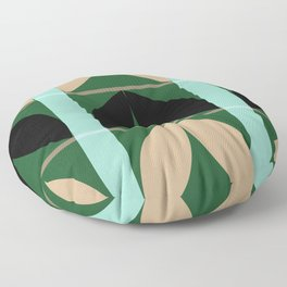 Abstraction_Floral_Pattern_Art_Minimalism_002B Floor Pillow