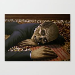 Erik Weeping Canvas Print